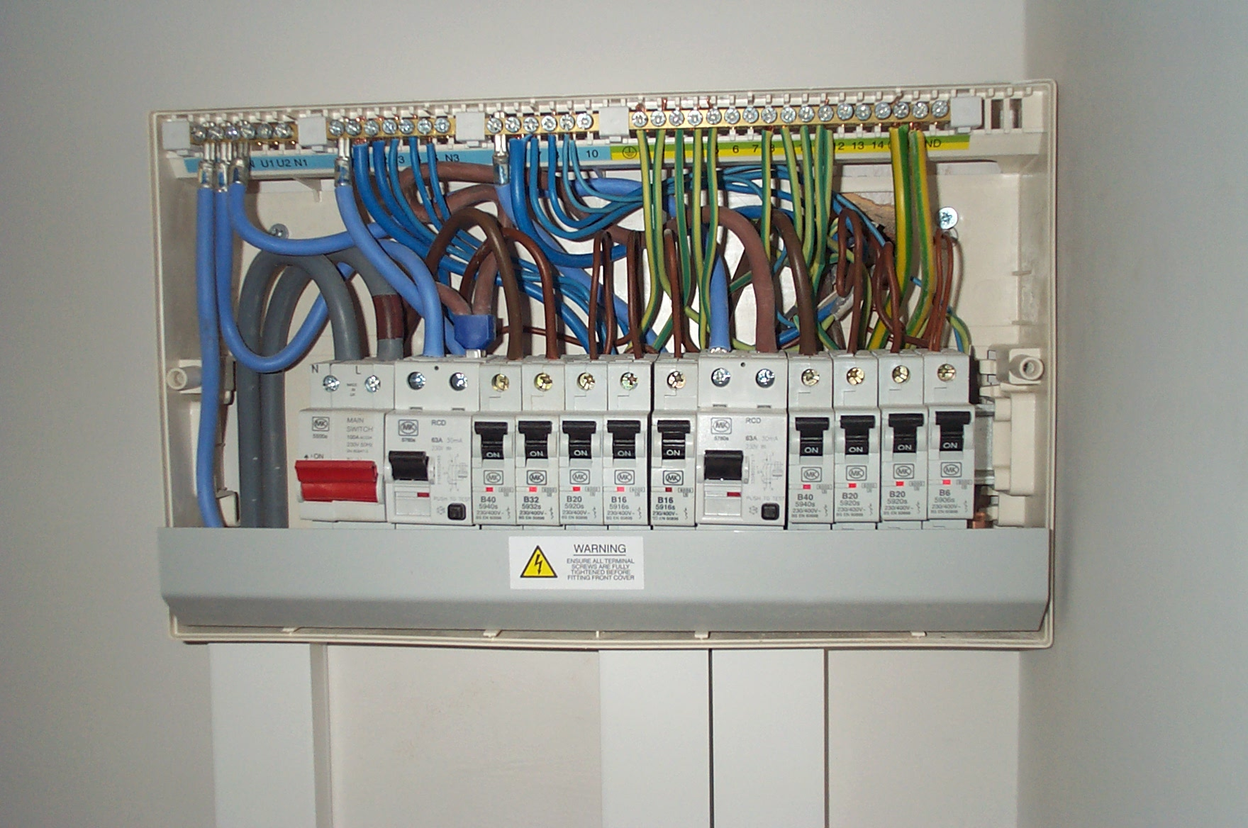 consumer unit upgrades iet forums power surge and big electric bill economy 7 fuse box at n-0.co
